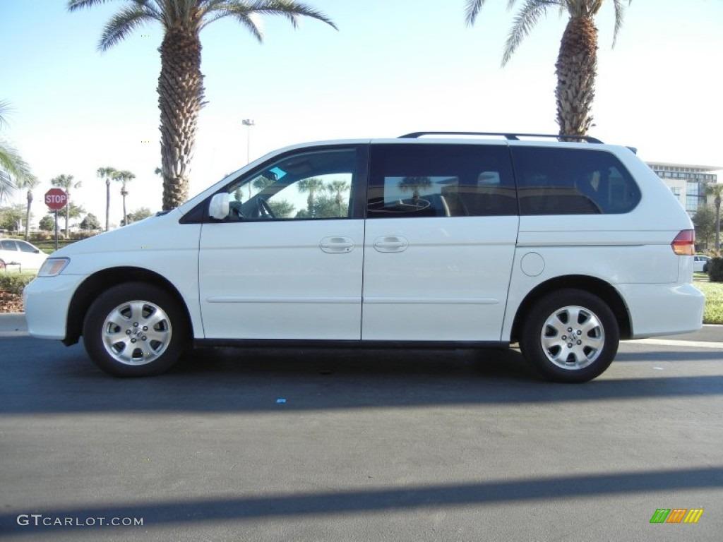 2002 Taffeta White Honda Odyssey Ex 59168484 Gtcarlot