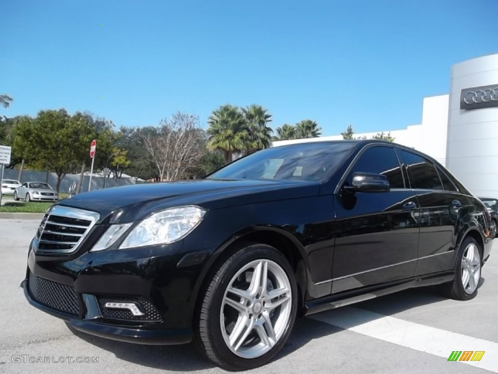 Black 2011 mercedes benz e 550 sedan exterior photo for Mercedes benz e350 black