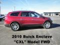 2010 Red Jewel Tintcoat Buick Enclave CXL  photo #1