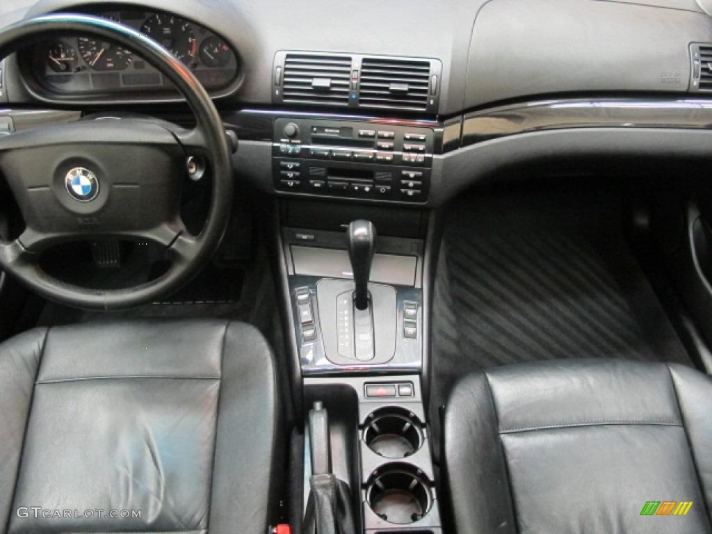 1999 bmw 3 series 323i sedan black dashboard photo #59201447