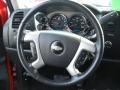 2009 Victory Red Chevrolet Silverado 1500 LT Extended Cab 4x4  photo #18