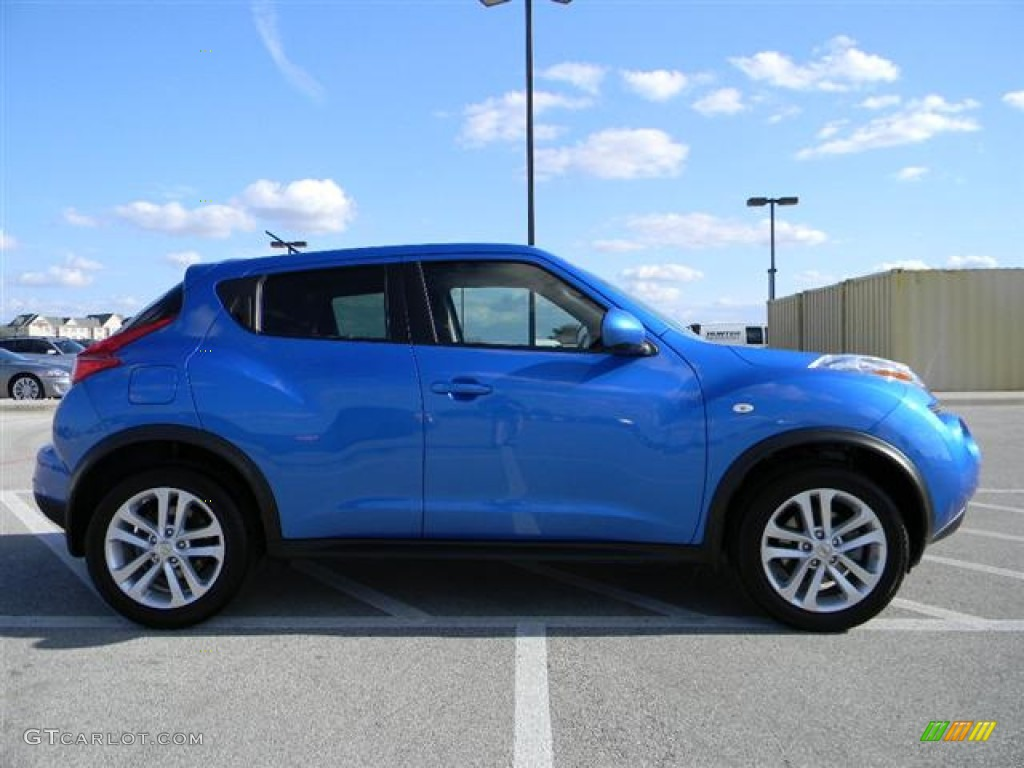 Electric Blue 2011 Nissan Juke S Exterior Photo 59218404