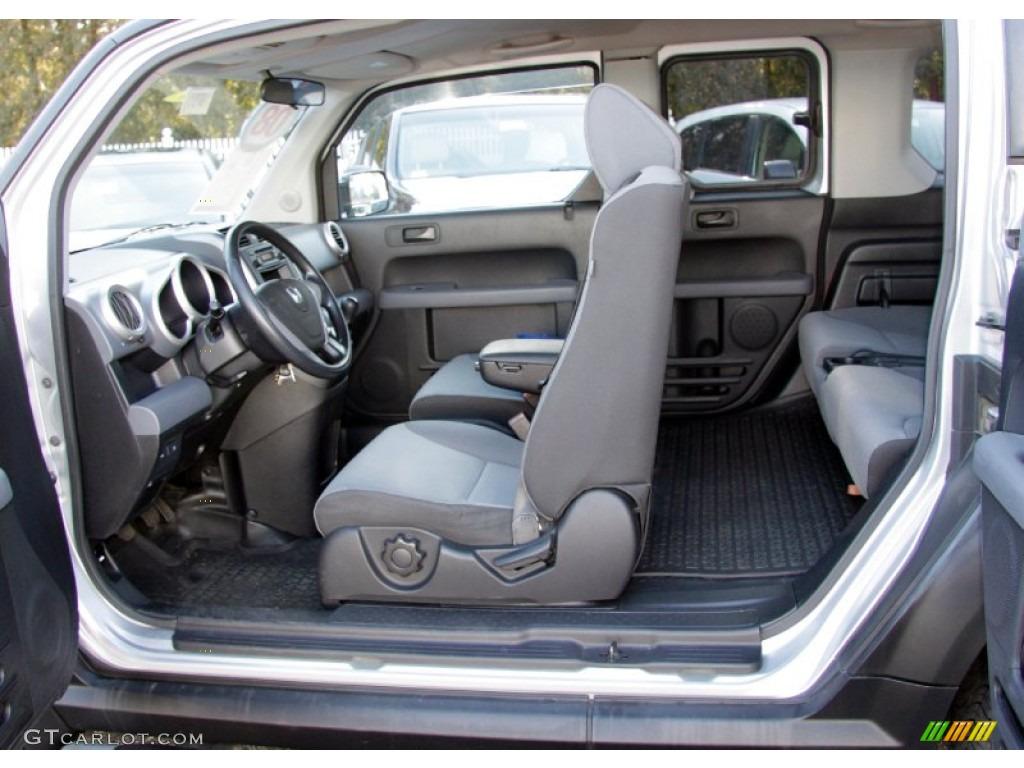 Gray Black Interior 2008 Honda Element Lx Photo 59229471