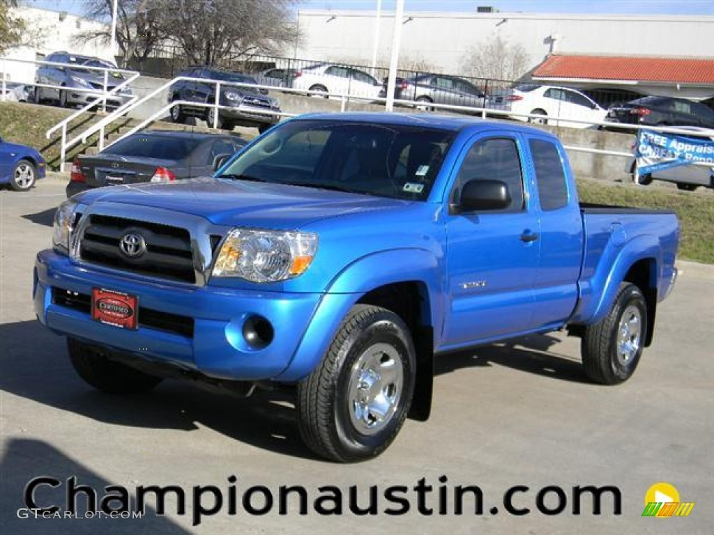 2010 Speedway Blue Toyota Tacoma PreRunner Access Cab ... - photo#43