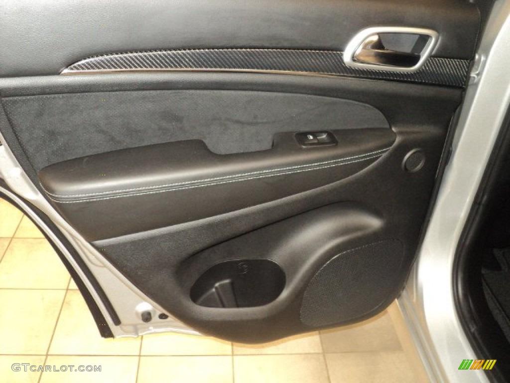 2012 Jeep Grand Cherokee Srt8 4x4 Srt Black Door Panel Photo 59237580