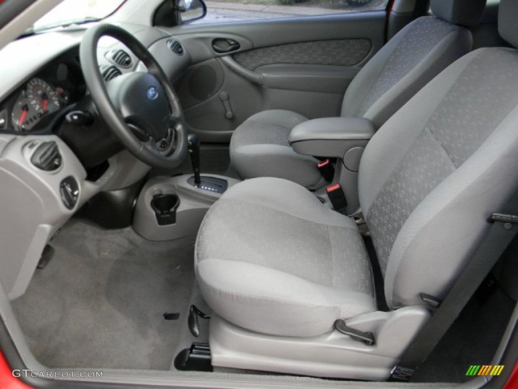 Medium Graphite Interior 2003 Ford Focus ZX3 Coupe Photo #59237880