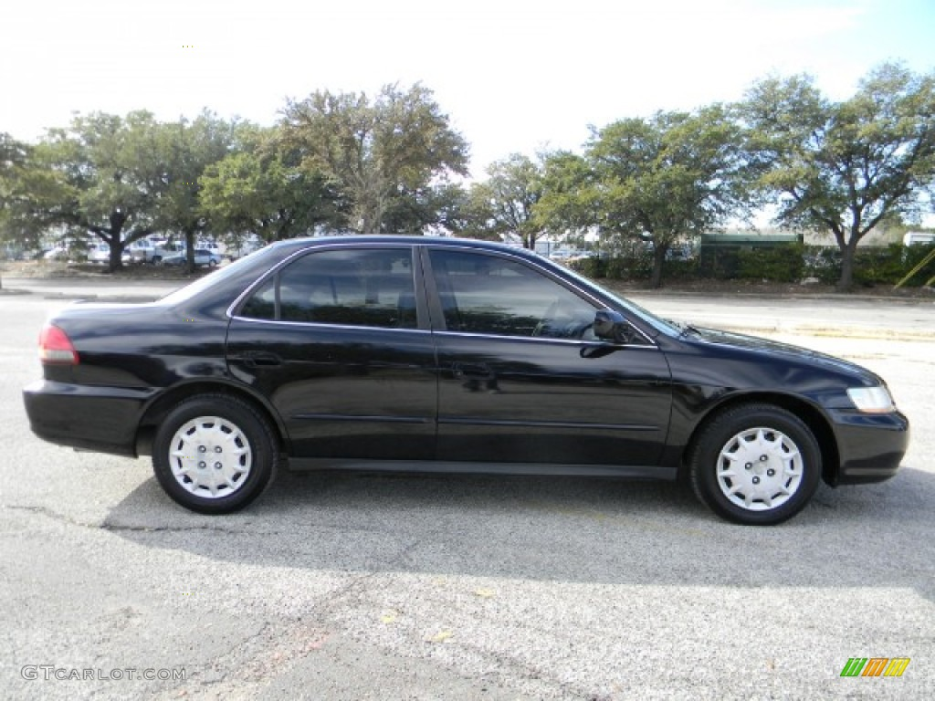 nighthawk black pearl 2001 honda accord lx sedan exterior. Black Bedroom Furniture Sets. Home Design Ideas