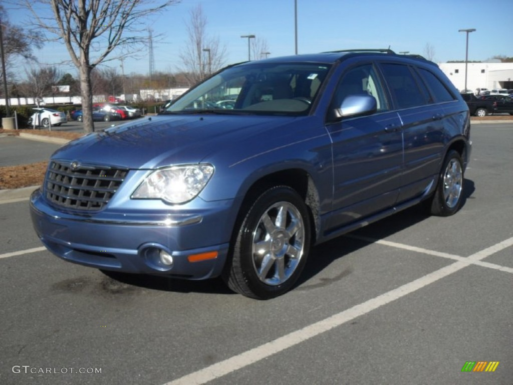 marine blue pearl 2007 chrysler pacifica limited awd. Black Bedroom Furniture Sets. Home Design Ideas