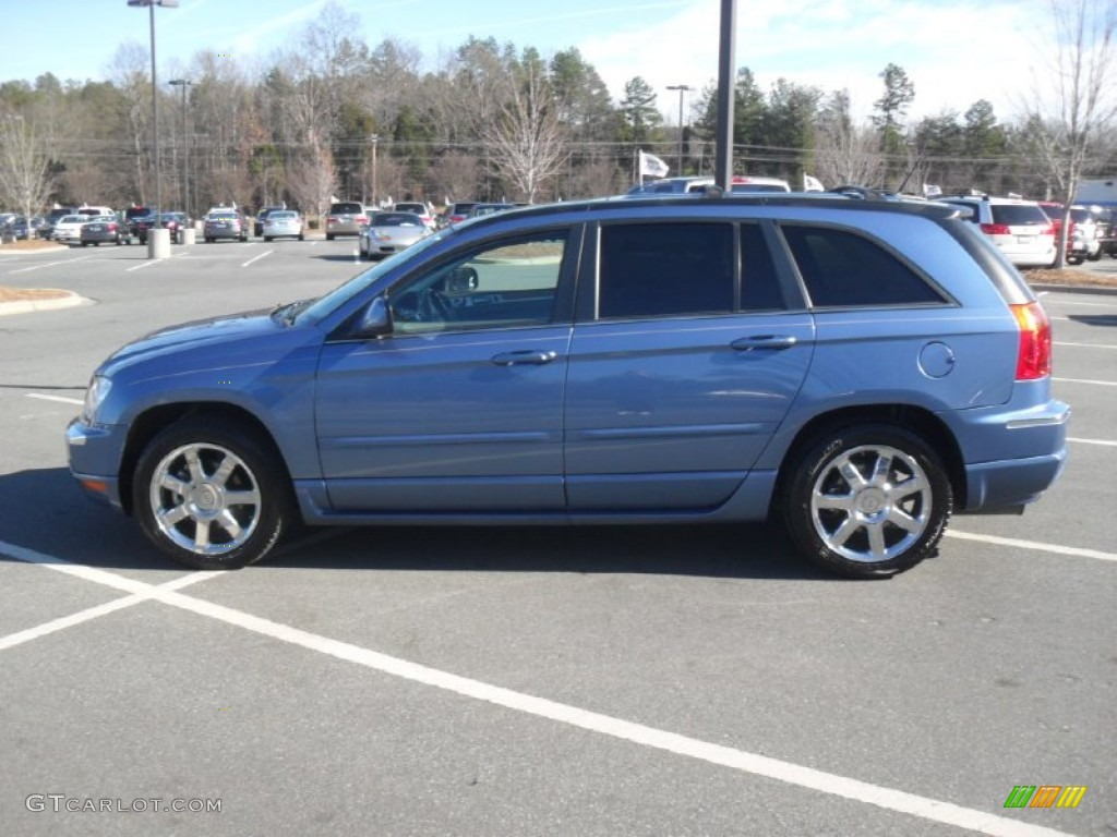 marine blue pearl 2007 chrysler pacifica limited awd exterior photo. Cars Review. Best American Auto & Cars Review