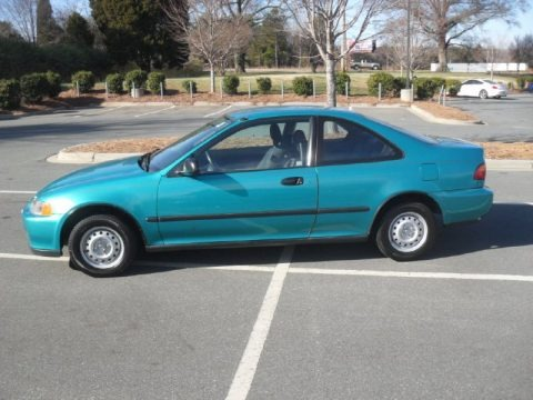 1994 Honda Civic DX Coupe Data Info and Specs  GTCarLotcom
