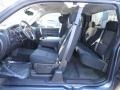 2012 Blue Granite Metallic Chevrolet Silverado 1500 LT Extended Cab 4x4  photo #12