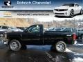 2012 Black Chevrolet Silverado 1500 LS Regular Cab 4x4  photo #1