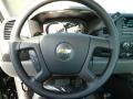 2012 Black Chevrolet Silverado 1500 LS Regular Cab 4x4  photo #15