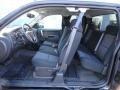 2012 Black Chevrolet Silverado 1500 LT Extended Cab 4x4  photo #12
