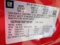 2012 Victory Red Chevrolet Silverado 1500 LT Crew Cab 4x4  photo #14
