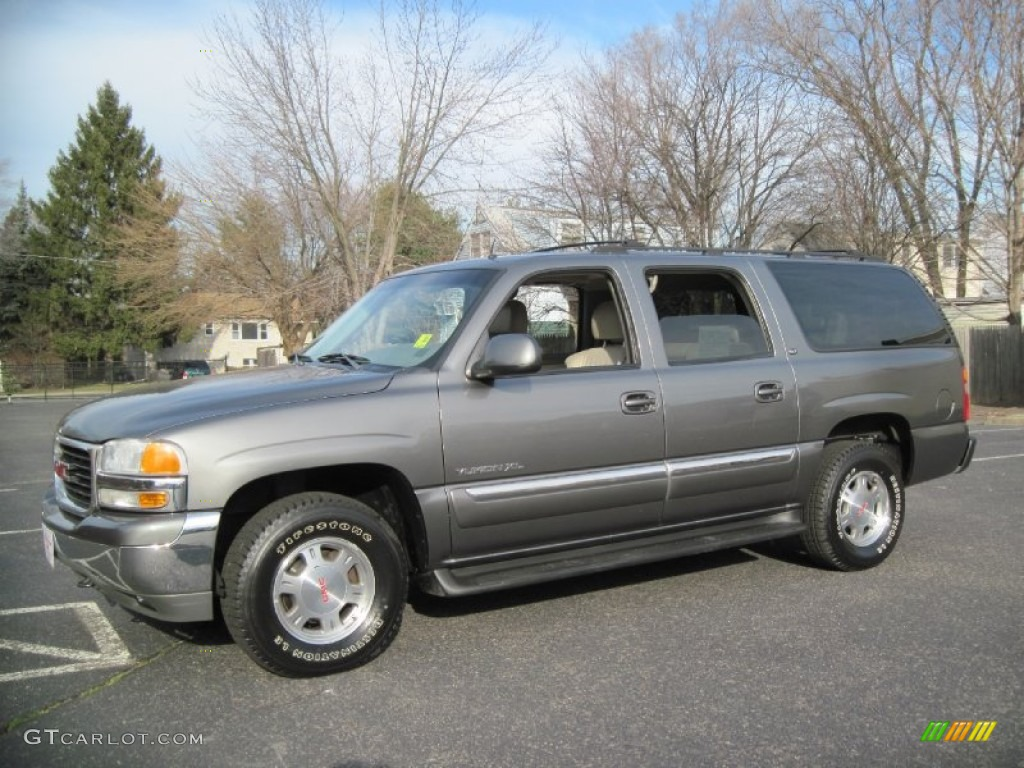 2002 storm gray metallic gmc yukon xl slt 4x4 59243355. Black Bedroom Furniture Sets. Home Design Ideas