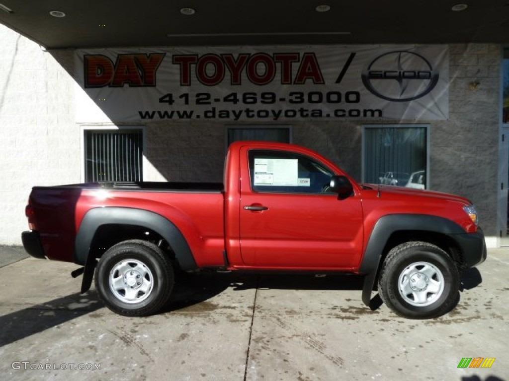 Barcelona Red Metallic Toyota Tacoma