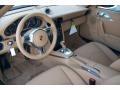 Sand Beige Interior Photo for 2012 Porsche 911 #59278698