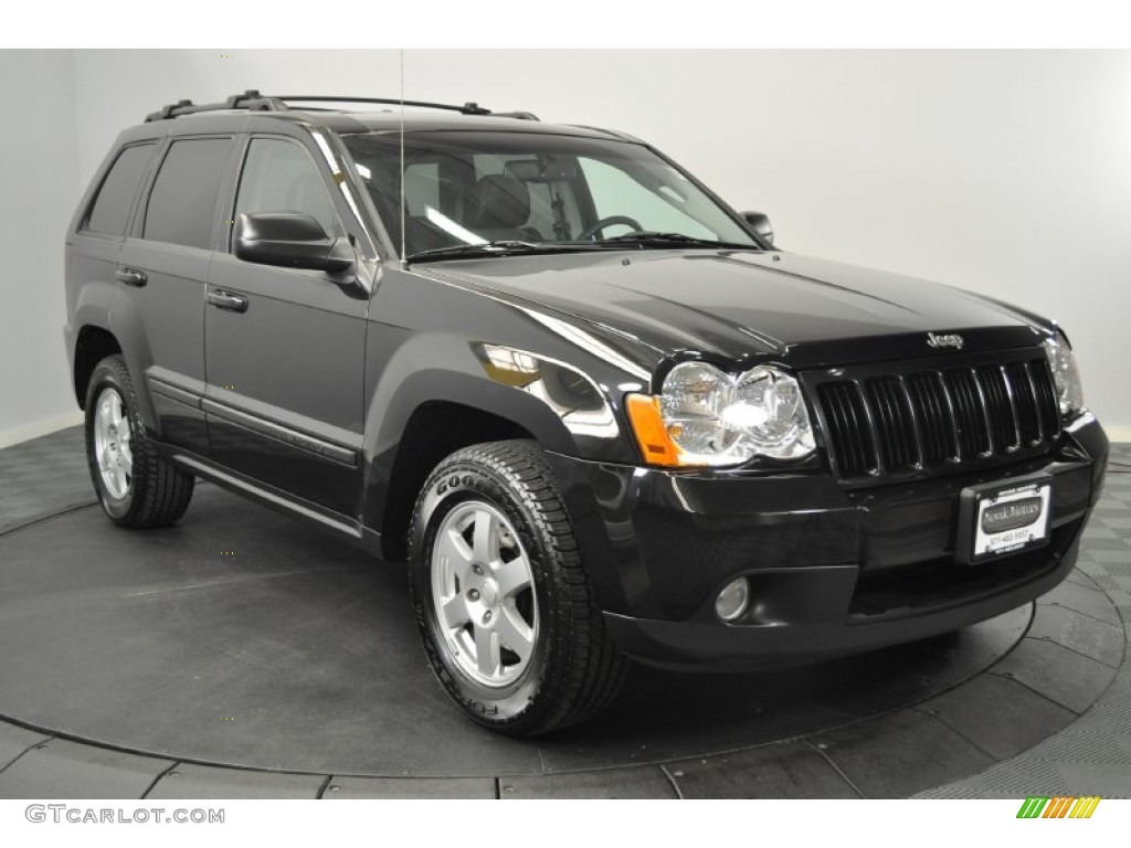 black 2008 jeep grand cherokee laredo 4x4 exterior photo 59284800. Cars Review. Best American Auto & Cars Review