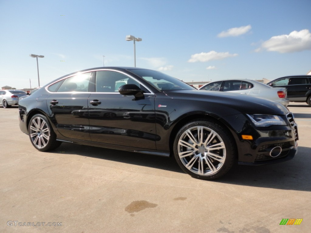 2012 Phantom Black Pearl Effect Audi A7 3.0T quattro ...