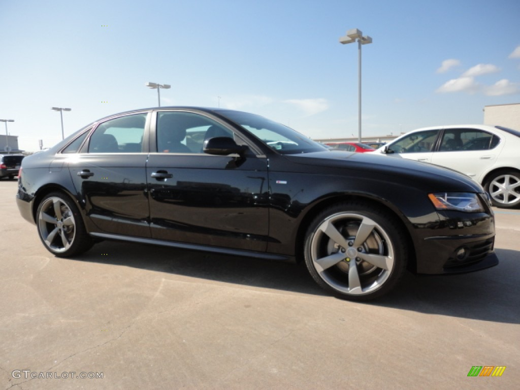 2012 Phantom Black Pearl Effect Audi A4 2 0t Quattro Sedan