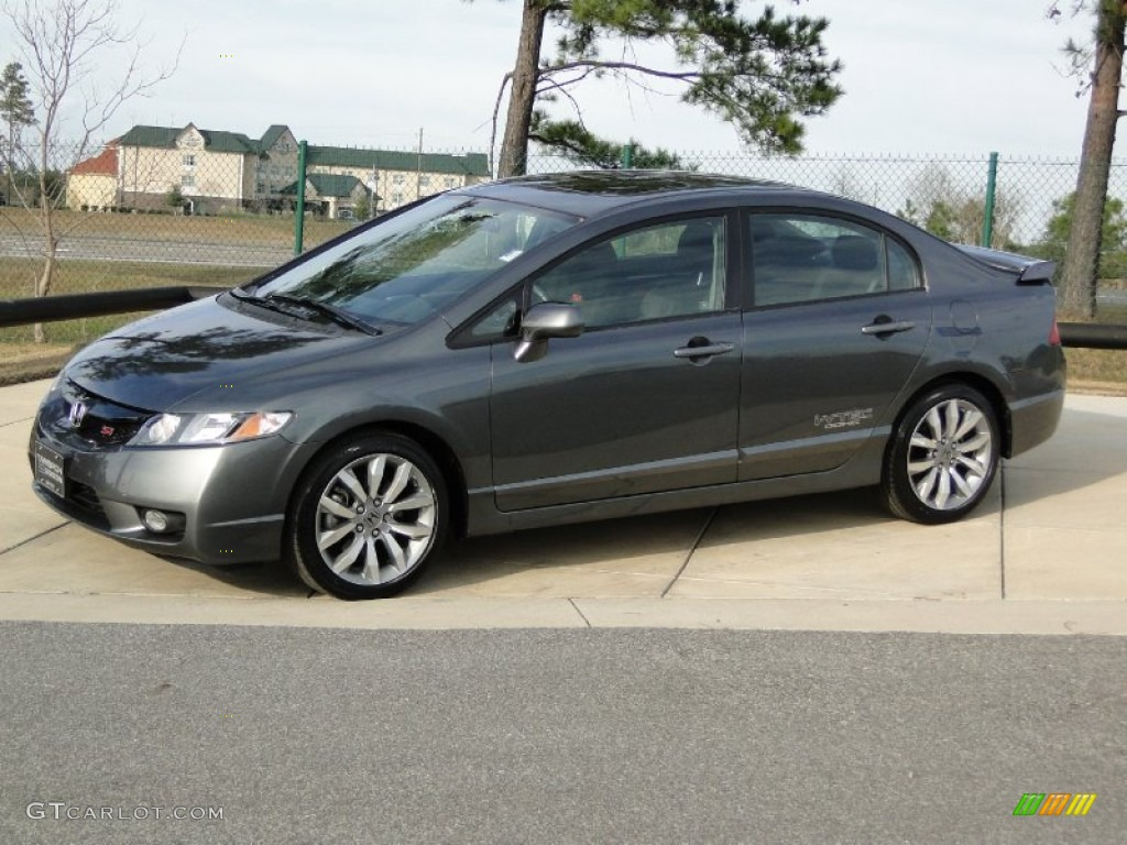 Polished Metal Metallic 2010 Honda Civic Si Sedan Exterior Photo 59306090 Gtcarlot Com