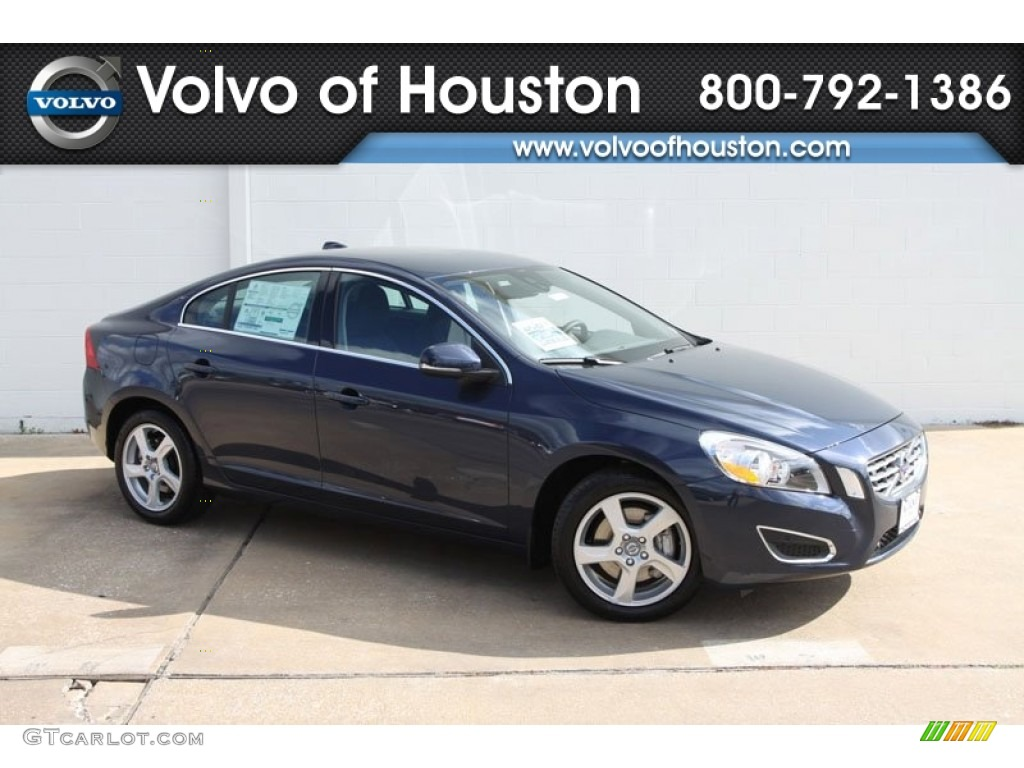 2012 caspian blue metallic volvo s60 t5 59320046 car color galleries. Black Bedroom Furniture Sets. Home Design Ideas