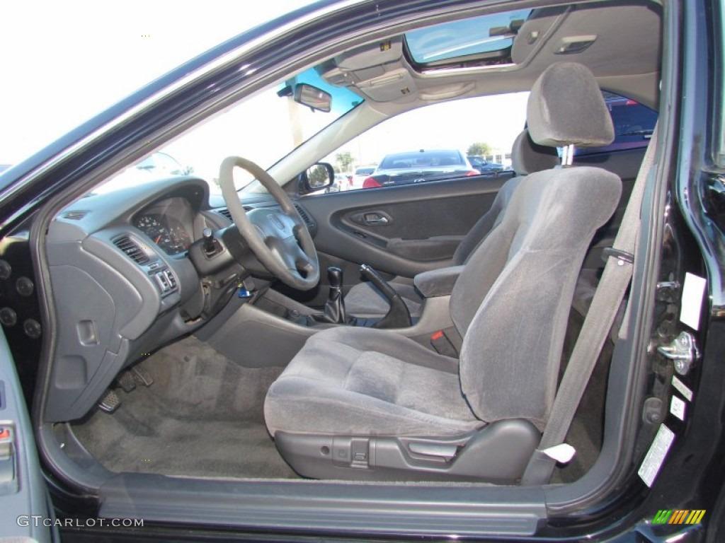 Charcoal Interior 2000 Honda Accord Ex Coupe Photo 59328642