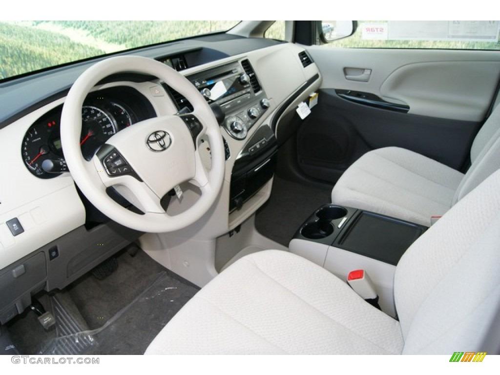 Bisque Interior 2012 Toyota Sienna Le Awd Photo 59338308