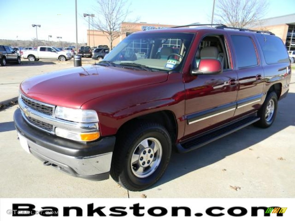 2001 redfire metallic chevrolet suburban 1500 lt 59319447. Black Bedroom Furniture Sets. Home Design Ideas