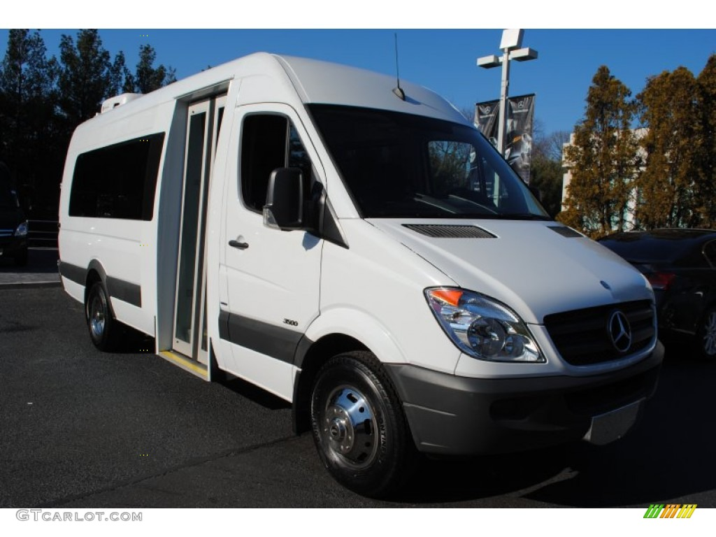 2011 Arctic White Mercedes Benz Sprinter 3500 High Roof