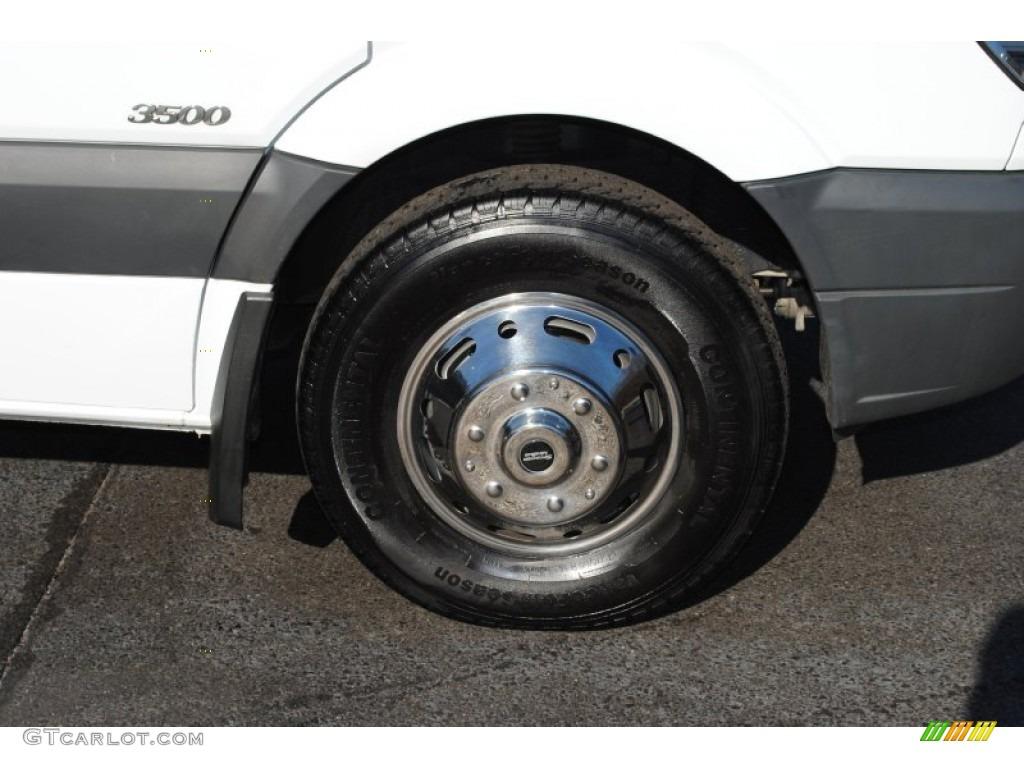2011 mercedes benz sprinter 3500 high roof passenger van for Mercedes benz sprinter wheels