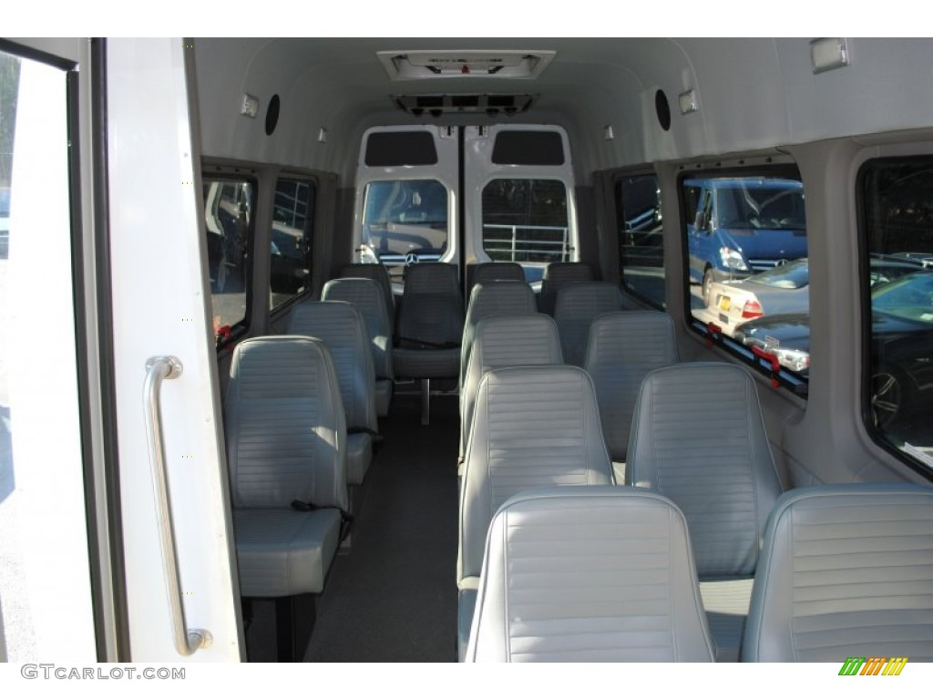 Black Interior 2011 Mercedes Benz Sprinter 3500 High Roof Passenger Van Photo 59352178