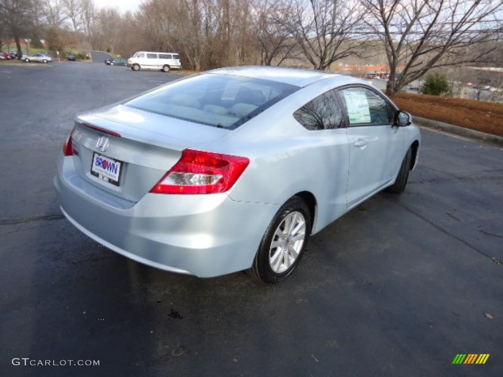 2012 cool mist metallic honda civic ex coupe 59319873 for Cool honda civic