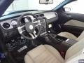 2012 Ford Mustang Stone Interior Prime Interior Photo