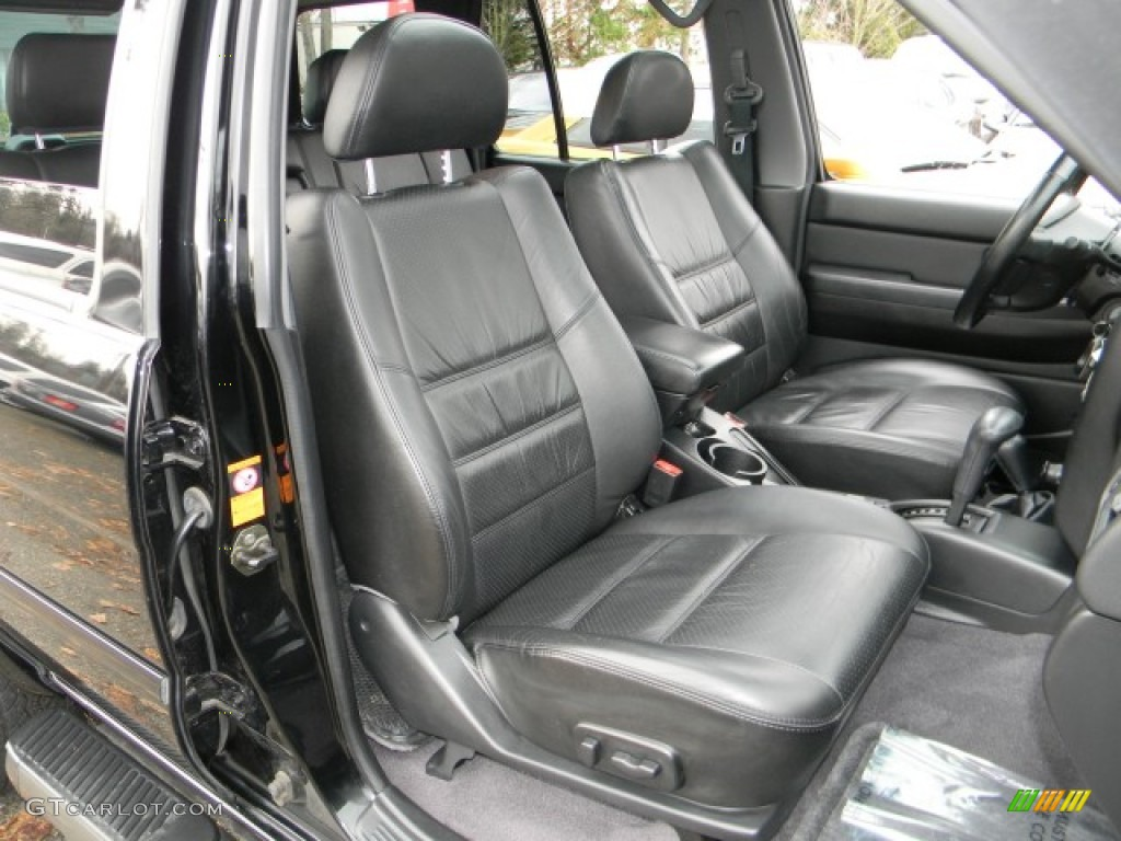 2002 nissan pathfinder se 4x4 interior photos