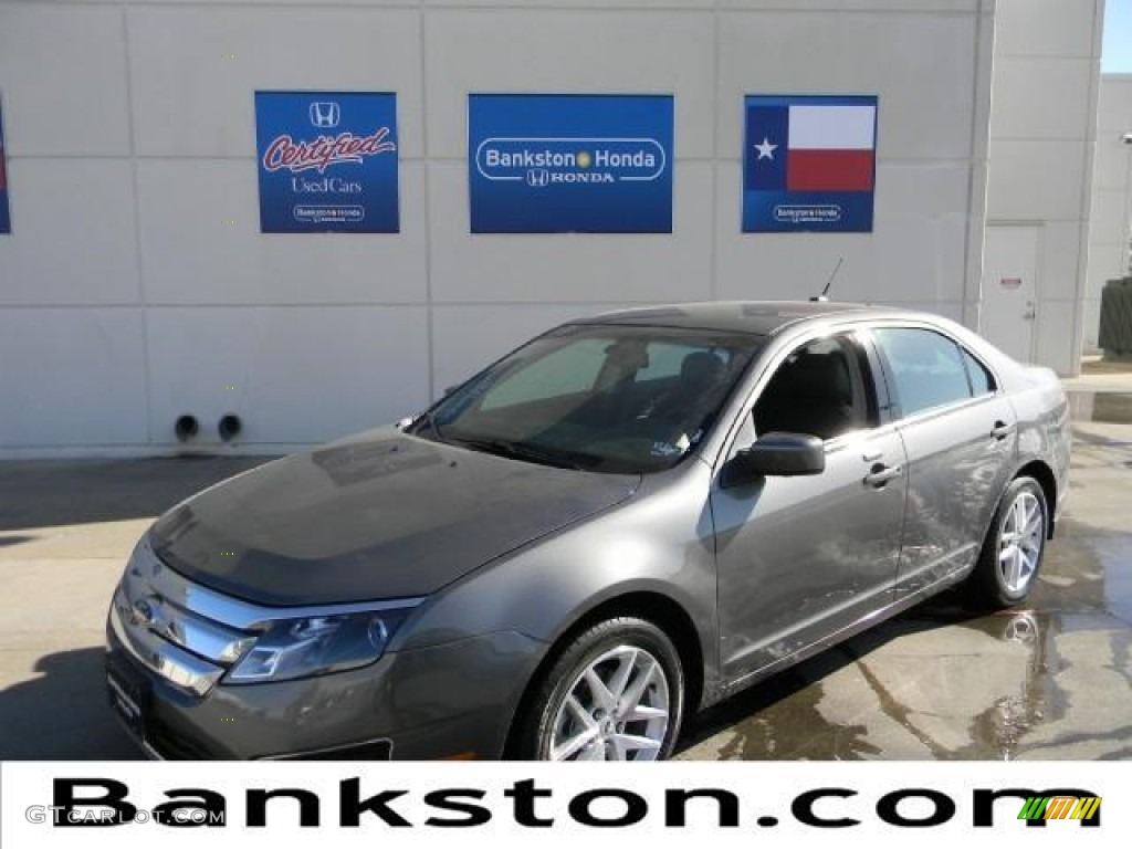 2011 Fusion SEL V6 - Sterling Grey Metallic / Charcoal Black photo #1