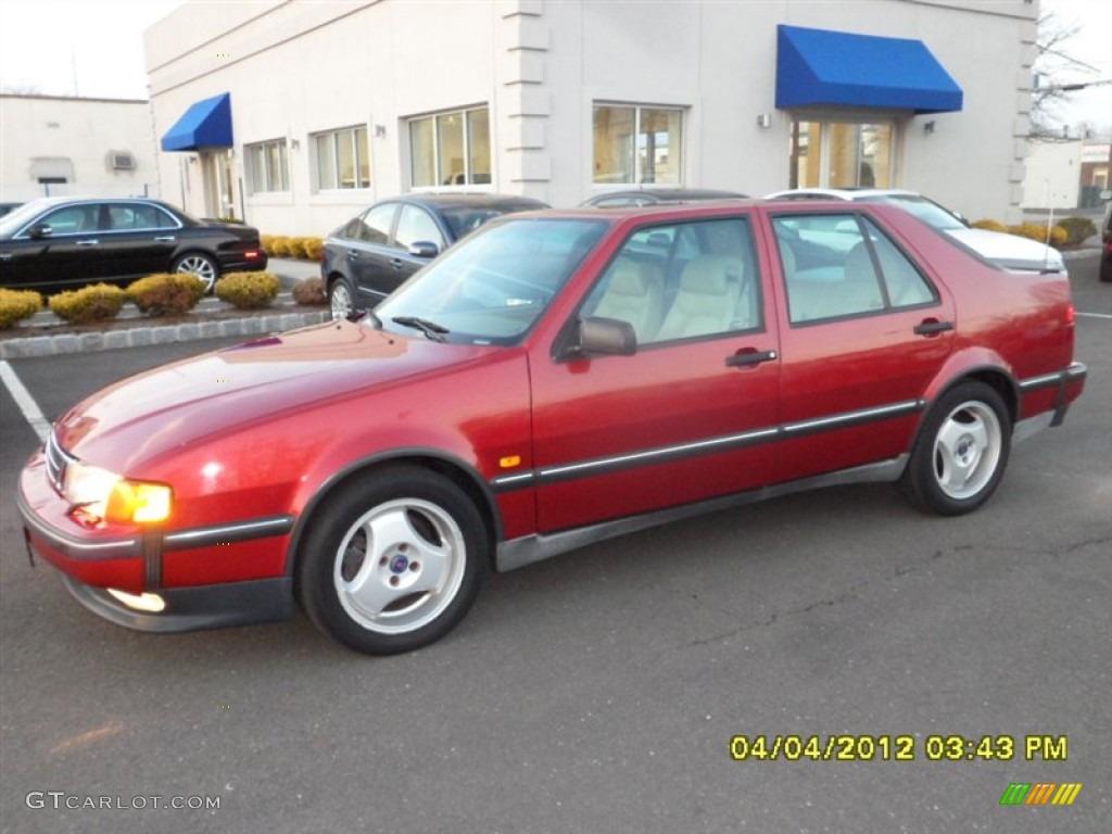 Cayenne red metallic 1998 saab 9000 cse turbo exterior photo 59378831