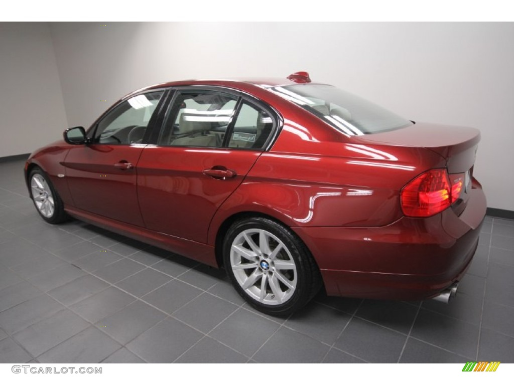 vermillion red metallic 2011 bmw 3 series 328i sedan exterior photo 59379179. Black Bedroom Furniture Sets. Home Design Ideas