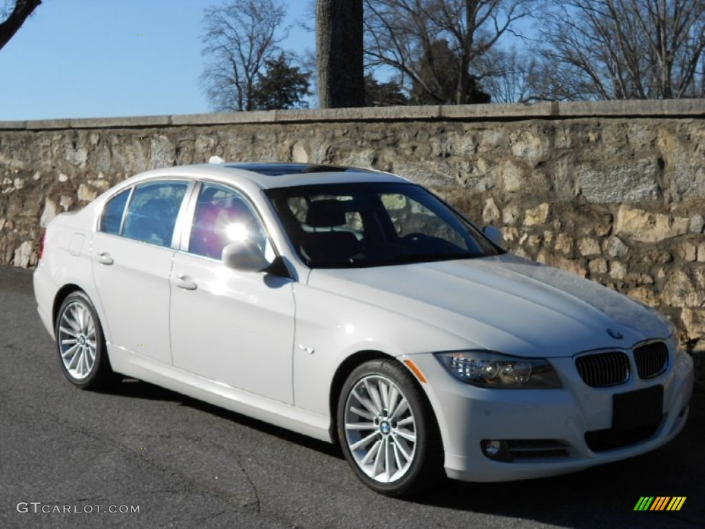 2009 Alpine White Bmw 3 Series 335d Sedan 59375594