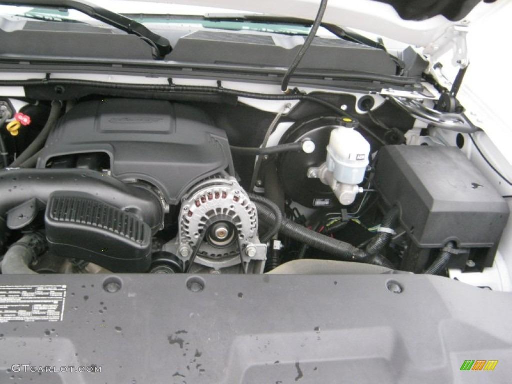 2008 chevrolet silverado 1500 ls regular cab 5 3 liter ohv 16 valve vortec v8 engine photo. Black Bedroom Furniture Sets. Home Design Ideas