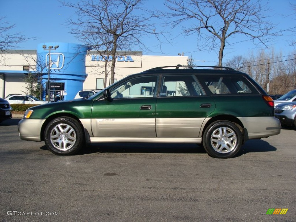 2002 timberline green subaru outback wagon 59375966 photo. Black Bedroom Furniture Sets. Home Design Ideas