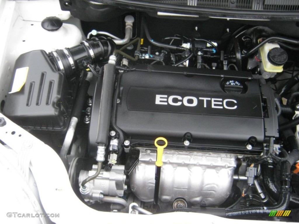 2010 Chevrolet Aveo LT Sedan 1.6 Liter DOHC 16-Valve VVT ...