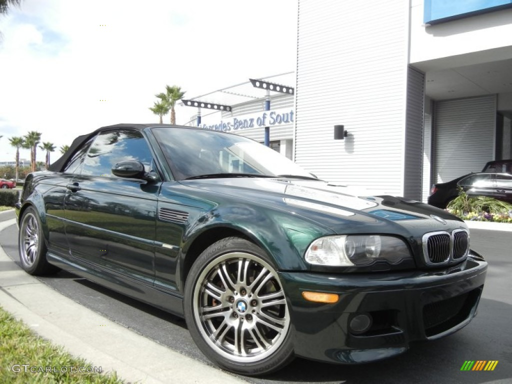 2004 Oxford Green Metallic Bmw M3 Convertible 59375549 Photo 4
