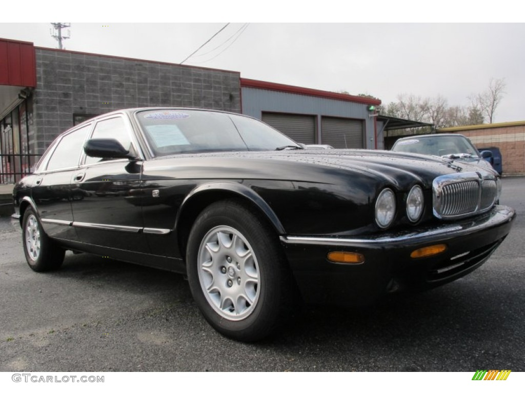 Anthracite pearl 1999 jaguar xj xj8 exterior photo for Jaguar xj exterior