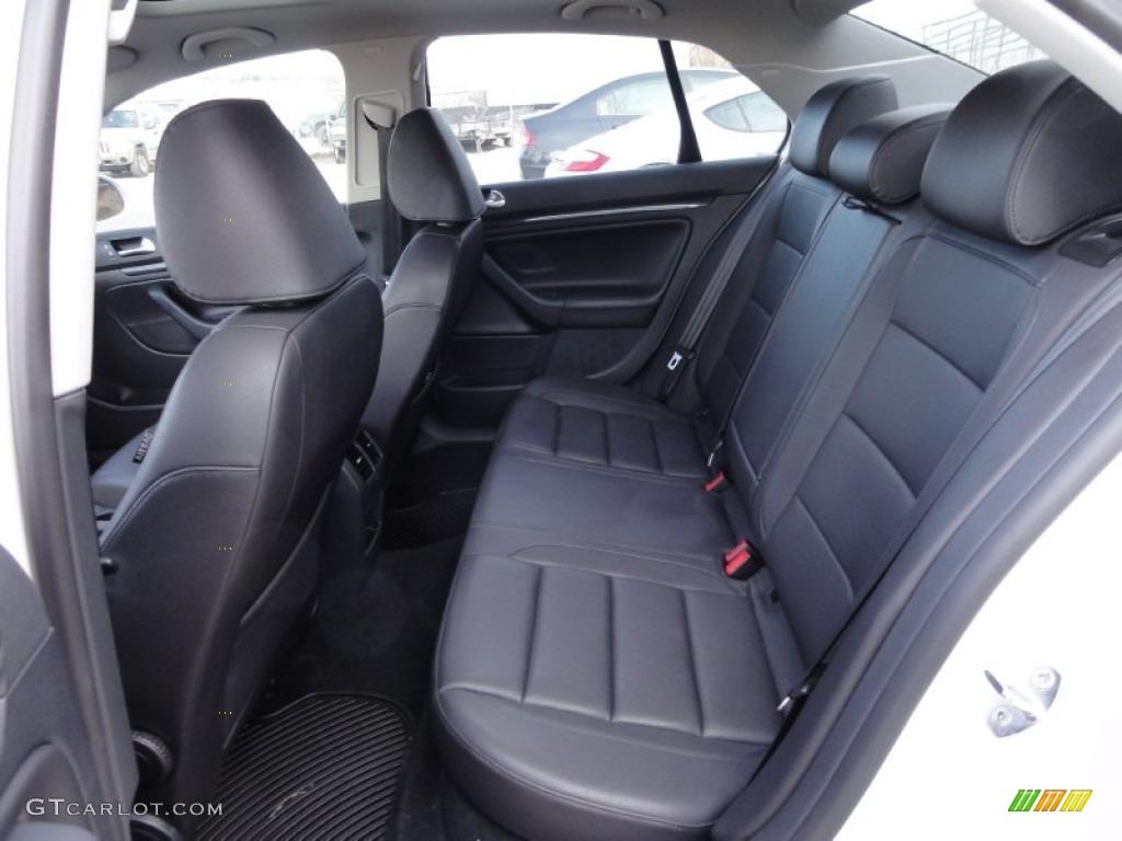 Titan Black Interior 2010 Volkswagen Jetta Wolfsburg Edition Sedan Photo #59391425 | GTCarLot.com