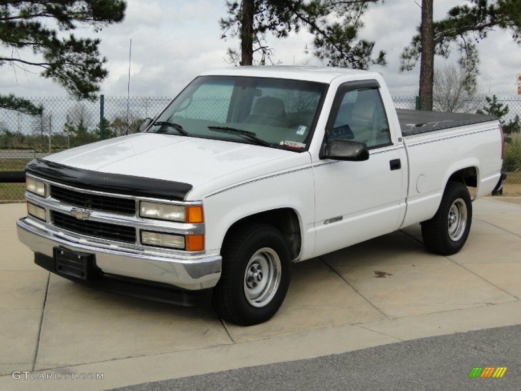 Olympic White 1997 Chevrolet C K C1500 Regular Cab