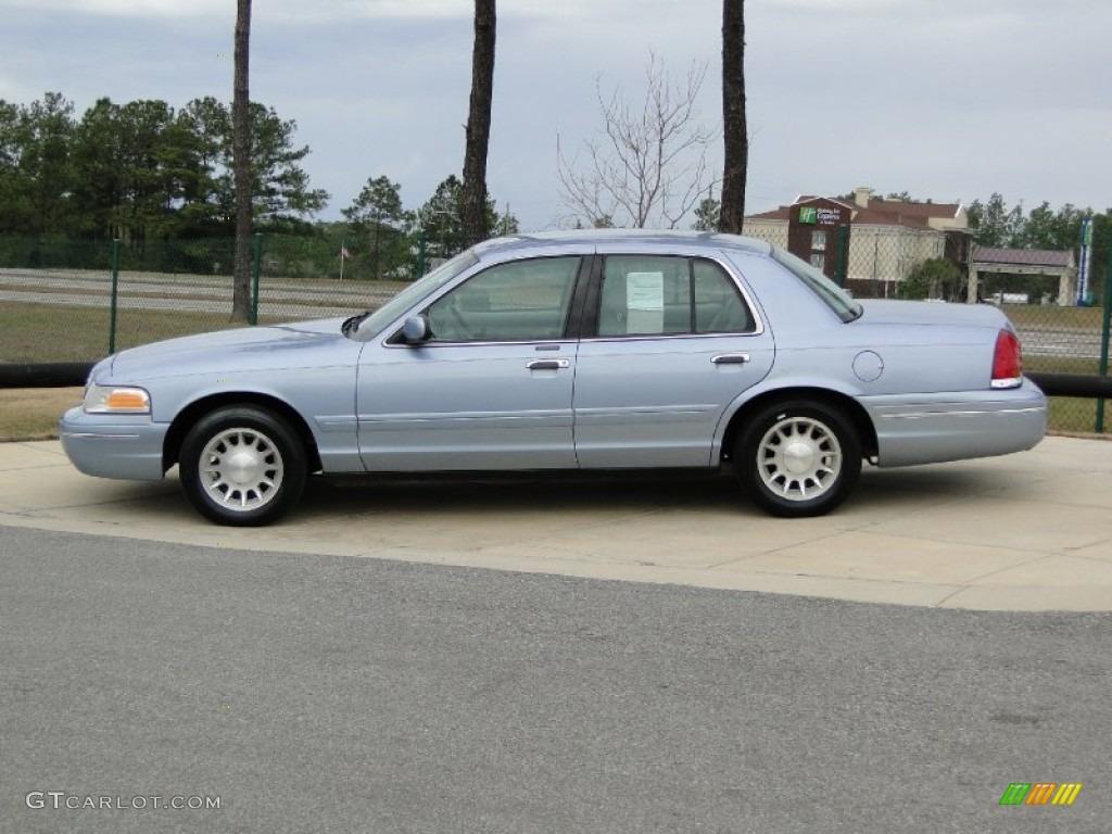 Light Denim Blue Metallic 1998 Ford Crown Victoria Lx Sedan Exterior Photo 59396273