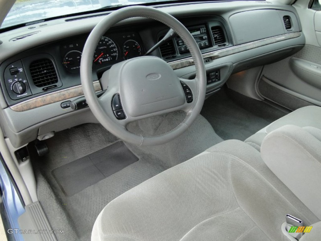 light graphite interior 1998 ford crown victoria lx sedan photo