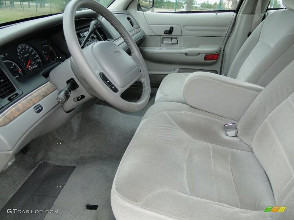 Light Graphite Interior 1998 Ford Crown Victoria Lx Sedan Photo 59396324